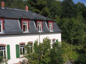 Ferienwohnung am Schlosspark Büdingen mit Balkon