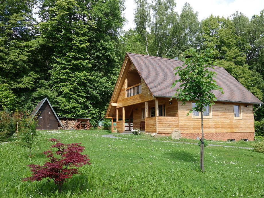 Außenaufnahme Oybiner Hütte