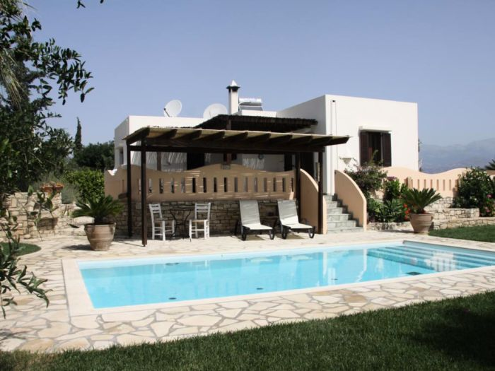 Ferienhaus Seli mit privatem Pool & idyllischem Garten