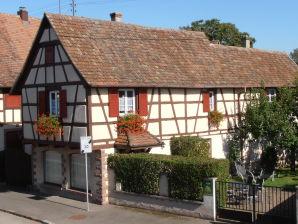 Das Elsässische Fachwerkhaus