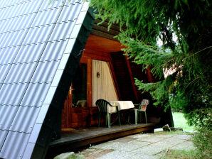 Nurdachferienhaus / Finnhütte