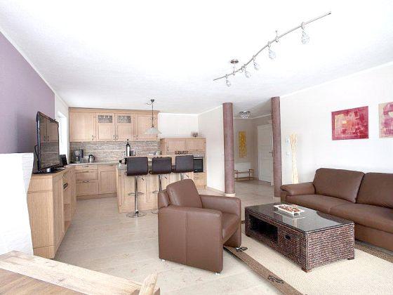 Wohnzimmer Mit Offener Kuche Grose : Moderne wohnzimmer mit offener k ...