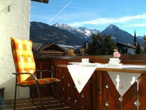 Ferienwohnung Nebelhorn mit Hallenbad