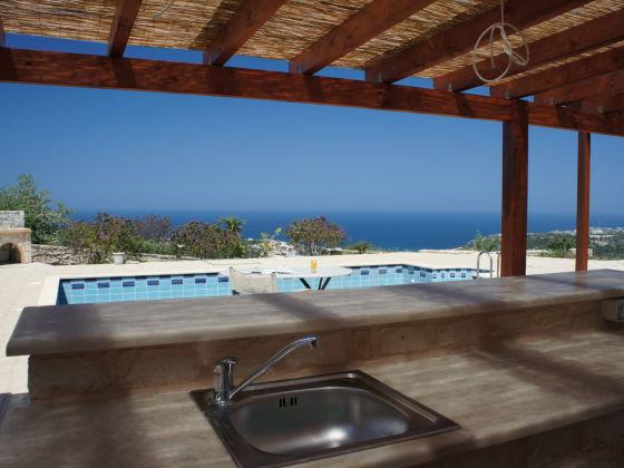 ferienhaus helena alleinlage pool auf 4500 m kreta. Black Bedroom Furniture Sets. Home Design Ideas