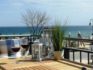 Ferienwohnung Meeresrauschen mit Meerblick
