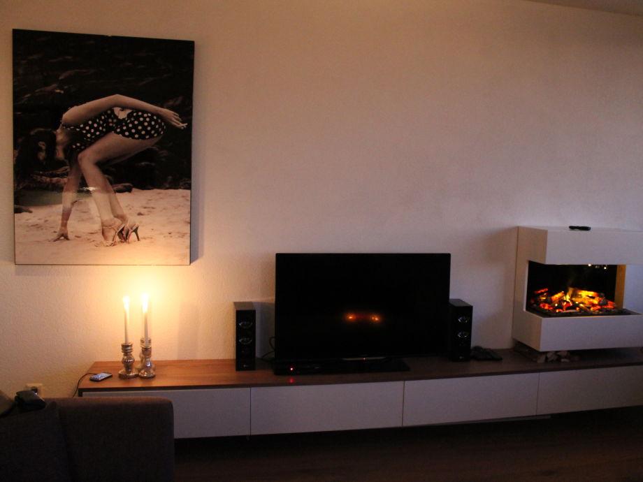 Wohnzimmer Kamin Elektrisch : Apartment Sunset, Nord-Holland ...