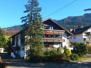 Ferienwohnung Rubihorn-Suite mit Blick auf die Berge