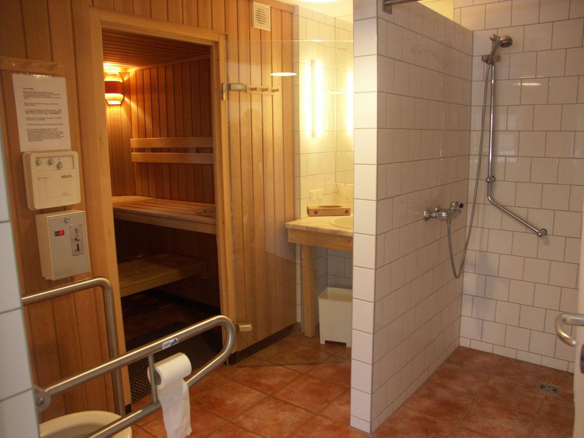 Kleine sauna im
