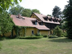 Kastanienhof Dresden Bühlau- Ferienwohnung im Fachwerkhaus