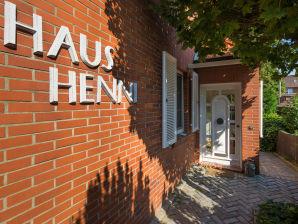 Ferienhaus Haus Henni
