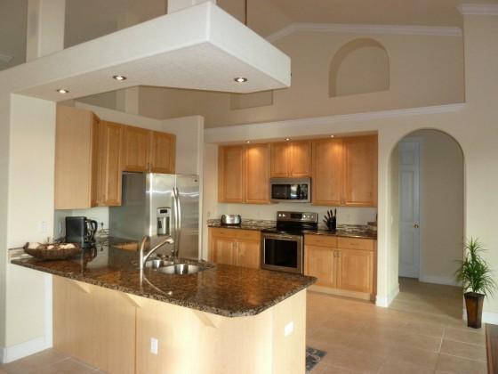 offenes wohnzimmer küche:offene küche wohnzimmer boden : offene Küche (Blick vom Wohnzimmer)
