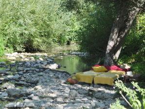 Ferienwohnung Casa Valrea La dolce vita - Haus am Fluss