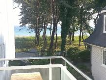 Ferienwohnung Strandhus - Bootsmann - Meerblickbalkon