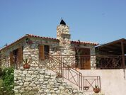 Holiday house typical Greek stone house for 3- 5 persons
