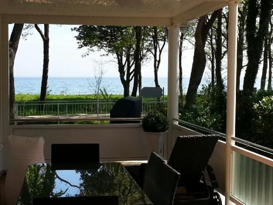 ferienwohnung strandhus nautilus direkter meerblick zur ostsee timmendorfer strand. Black Bedroom Furniture Sets. Home Design Ideas