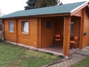 Ferienhaus Blockhaus zur Havel mit Wasserzugang (Boot)