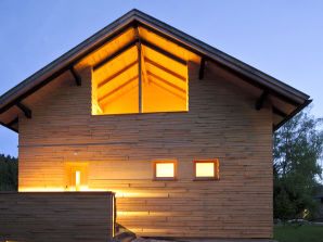 Berghütte Luxus-Chalet Waldarbeiterhaus