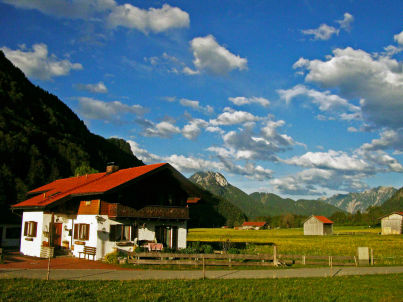im Bergparadies im Graswangtal