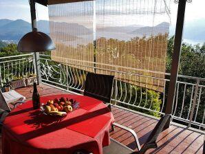 mit Traum- Ausblick am Lago Maggiore