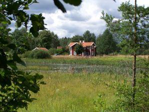 Ferienhaus Bullerbü am See - Fluss Vrigstadsån