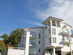 in der Residenz Binz mit Balkon und Seeblick