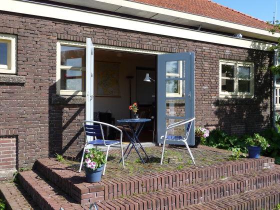 apartment f r zwei personen mit sauna in den friesischen seen in der n he von sneek herr p j. Black Bedroom Furniture Sets. Home Design Ideas