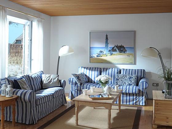 Ferienhaus eiderstedt sankt peter ording nordsee halbinsel eiderstedt firma appartements in - Maritimes wohnzimmer ...