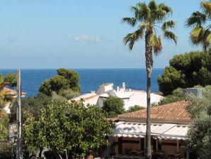 Ferienwohnung - Luxus Pur! Meerblick, Pool, 150m zum Strand