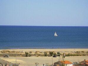 Ferienhaus mit Panoramablick über das Meer