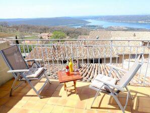 Ferienhaus mit traumhaftem Blick auf den Lac de Sainte-Croix
