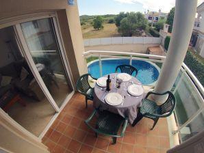 Ferienwohnung Maite mit Pool, 200 m vom Strand