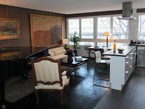 Apartment Luxus 2 Zimmer im Zentrum Paris, ruhig, Garage, WLAN