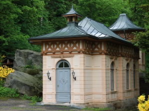 Am Jagdschloss Bielatal