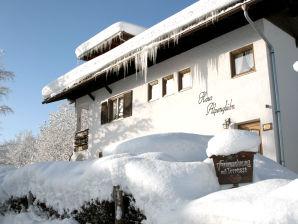 Ferienwohnung Haus Alpenglühn