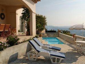 Pool Villa Camelia mit Panoramablick Côte d'Azur