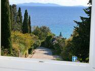 mit Meerblick oberhalb vom Strand in Le Rayol-Canadel