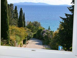 Ferienhaus mit Meerblick oberhalb vom Strand in Le Rayol-Canadel