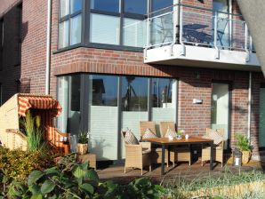Ferienwohnung Strandhaus mit Teilmeerblick
