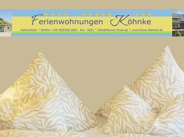 Ferienwohnung Köhnke 3, Harz, Oberharz, Goslar, Hahnenklee, Kurort ...