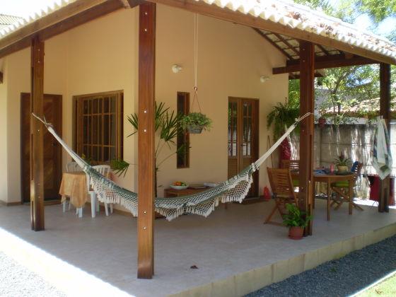 2-Zi-Häuschen mit Küche, Veranda + Grillplatz