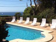 Traumhafte Villa 50m zum Meer, mit 9x5m Pool, bis 10 Pers.