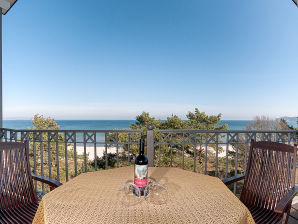 Ferienwohnung Panoramasuite - 1. Reihe am Strand und Meer