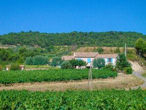 Ferienwohnung mit Gemeinschaftspool und Blick auf den Mont-Ventoux