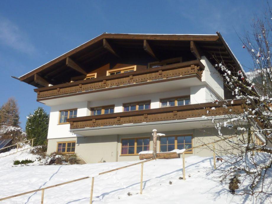 Landhaus Bergner Alm im Winter