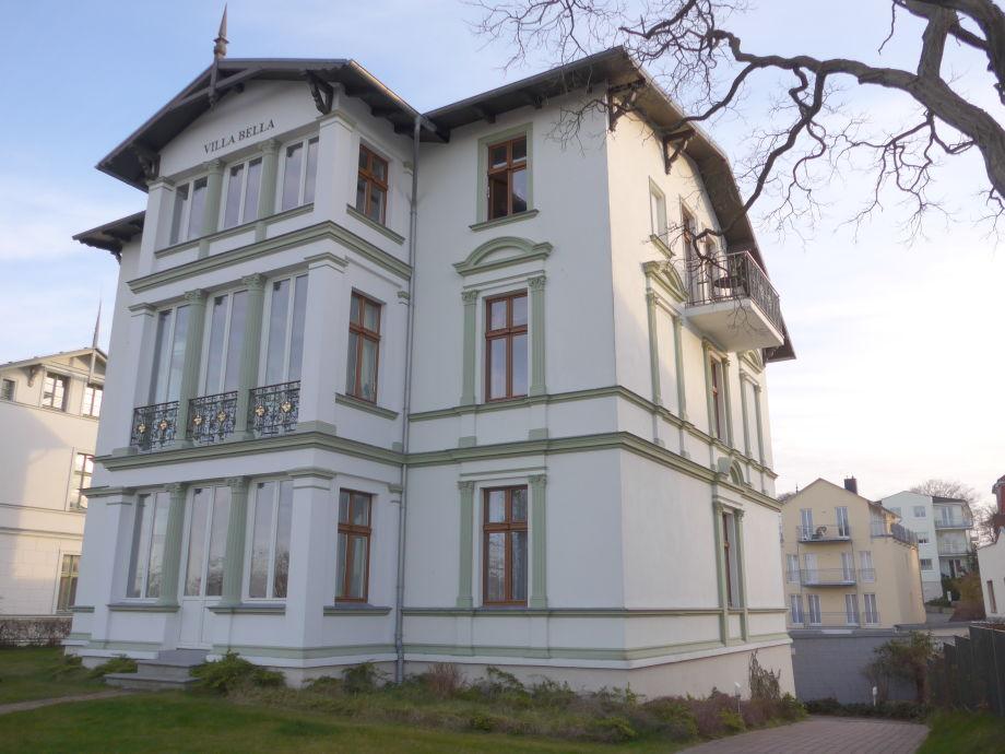 Villa Bella - Außenansicht der Ostseeperle