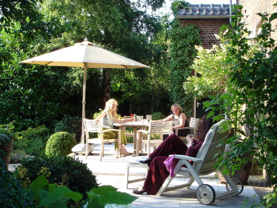 Außenaufnahme Luxus Ferienhaus bei Arcen/Venlo