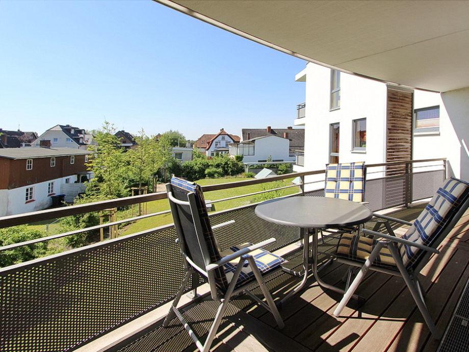möblierter Balkon in Süd-/Westlage
