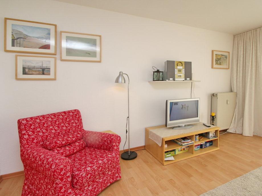 TV-Bereich im Wohnzimmer