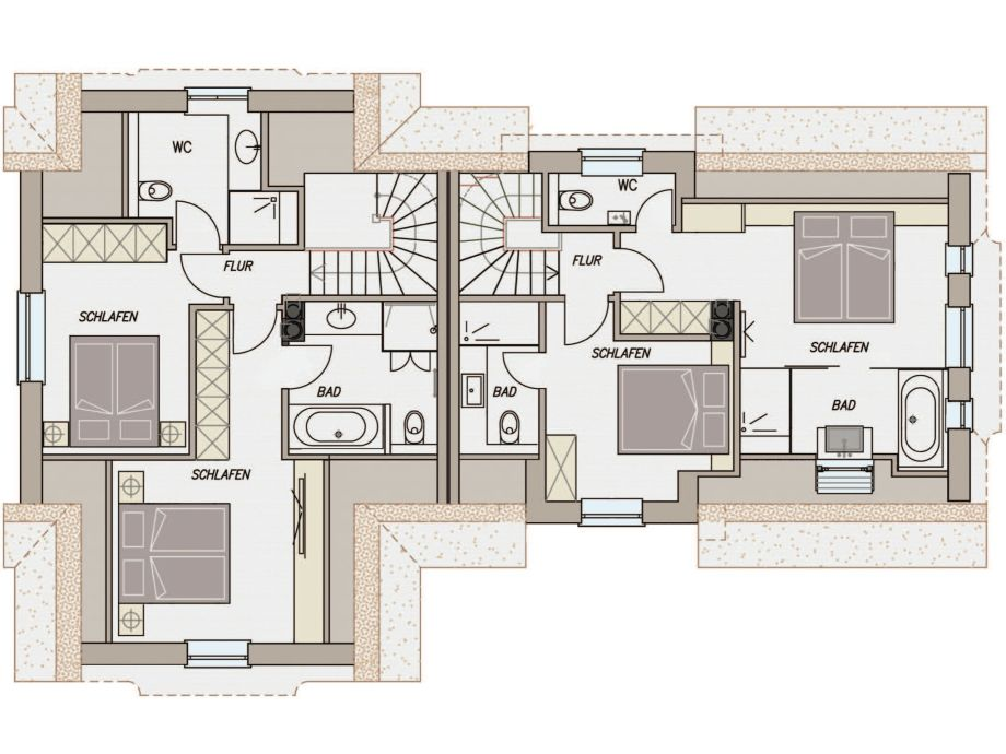 Ebenerdige Dusche Dachgeschoss : Ferienhaus Watthaus 2, Sylt, Nordfriesland, Rantum, Sansibar – Firma