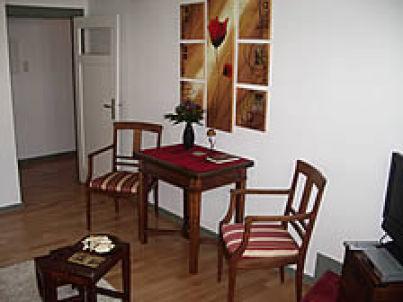 2-Zimmer Wohnung mit Kaminofen in der Altstadt
